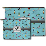 Yoga Poses Zipper Pouch (Personalized)