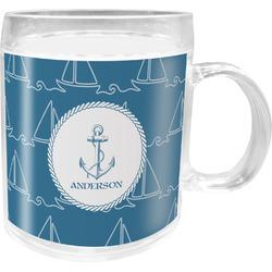 Rope Sail Boats Acrylic Kids Mug (Personalized)