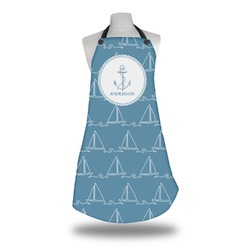 Rope Sail Boats Apron (Personalized)