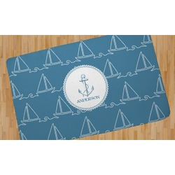 Rope Sail Boats Area Rug (Personalized)