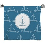 Rope Sail Boats Bath Towel (Personalized)