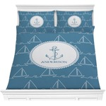 Rope Sail Boats Comforter Set (Personalized)