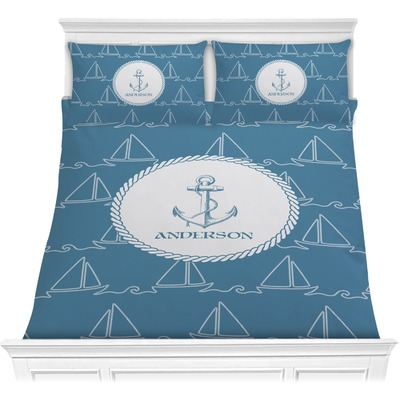 Rope Sail Boats Comforters (Personalized)