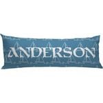Rope Sail Boats Body Pillow Case (Personalized)