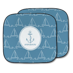 Rope Sail Boats Car Sun Shade - Two Piece (Personalized)