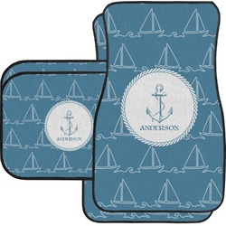 Rope Sail Boats Car Floor Mats (Personalized)