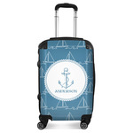 Rope Sail Boats Suitcase (Personalized)