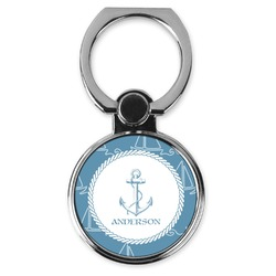 Rope Sail Boats Cell Phone Ring Stand & Holder (Personalized)