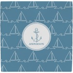 Rope Sail Boats Ceramic Tile Hot Pad (Personalized)