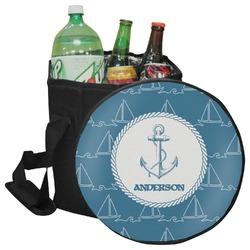 Rope Sail Boats Collapsible Cooler & Seat (Personalized)