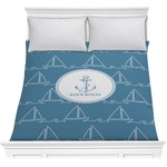 Rope Sail Boats Comforter (Personalized)