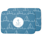 Rope Sail Boats Dish Drying Mat (Personalized)