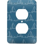 Rope Sail Boats Electric Outlet Plate (Personalized)