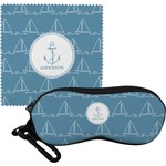 Rope Sail Boats Eyeglass Case & Cloth (Personalized)