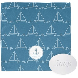 Rope Sail Boats Wash Cloth (Personalized)
