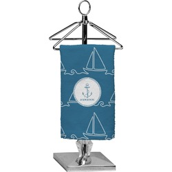 Rope Sail Boats Finger Tip Towel - Full Print (Personalized)