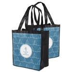 Rope Sail Boats Grocery Bag (Personalized)