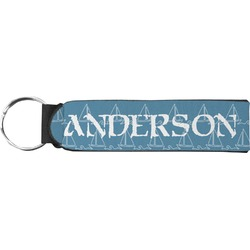 Rope Sail Boats Neoprene Keychain Fob (Personalized)
