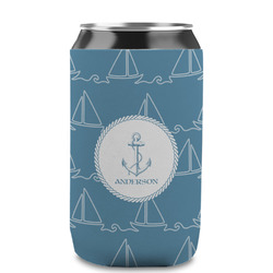 Rope Sail Boats Can Sleeve (12 oz) (Personalized)