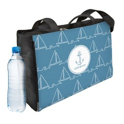Rope Sail Boats Ladies Workout Bag (Personalized)
