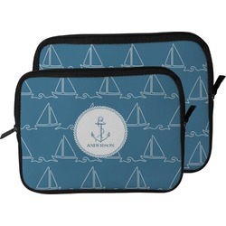 Rope Sail Boats Laptop Sleeve / Case (Personalized)