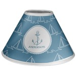 Rope Sail Boats Coolie Lamp Shade (Personalized)
