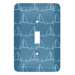 Rope Sail Boats Light Switch Covers (Personalized)