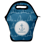 Rope Sail Boats Lunch Bag w/ Name or Text