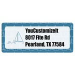 Rope Sail Boats Return Address Labels (Personalized)