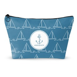 "Rope Sail Boats Makeup Bag - Small - 8.5""x4.5"" (Personalized)"