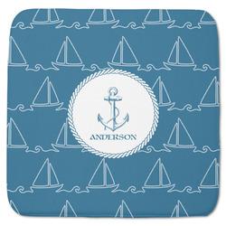 "Rope Sail Boats Memory Foam Bath Mat - 48""x48"" (Personalized)"
