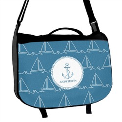 Rope Sail Boats Messenger Bag (Personalized)
