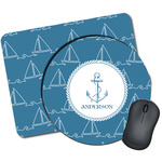 Rope Sail Boats Mouse Pads (Personalized)
