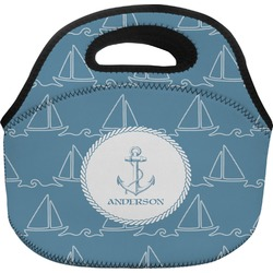 Rope Sail Boats Lunch Bag (Personalized)