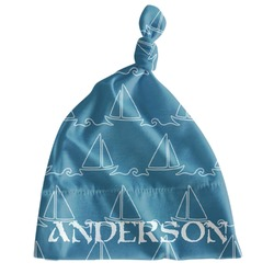 Rope Sail Boats Newborn Hat - Knotted (Personalized)