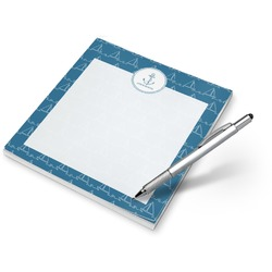 Rope Sail Boats Notepad (Personalized)