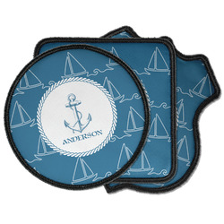 Rope Sail Boats Iron on Patches (Personalized)