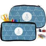 Rope Sail Boats Pencil / School Supplies Bag (Personalized)