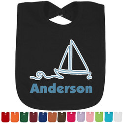 Rope Sail Boats Bib - Select Color (Personalized)