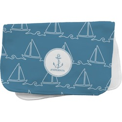 Rope Sail Boats Burp Cloth (Personalized)