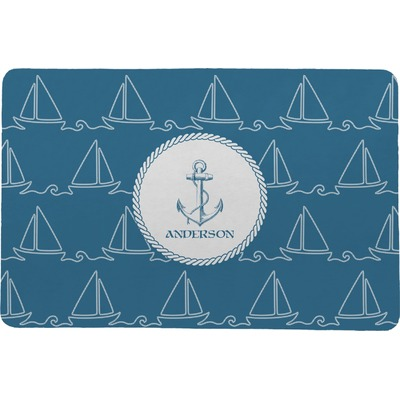 Rope Sail Boats Comfort Mat (Personalized)