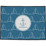 Rope Sail Boats Door Mat (Personalized)