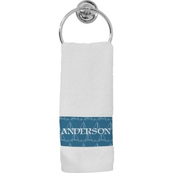 Rope Sail Boats Hand Towel (Personalized)