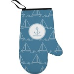 Rope Sail Boats Oven Mitt (Personalized)