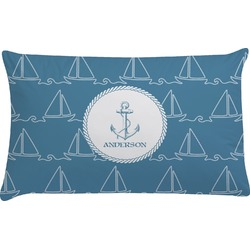 Rope Sail Boats Pillow Case (Personalized)