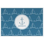 Rope Sail Boats Placemat (Laminated) (Personalized)