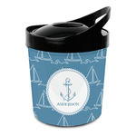 Rope Sail Boats Plastic Ice Bucket (Personalized)