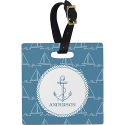 Rope Sail Boats Luggage Tags (Personalized)