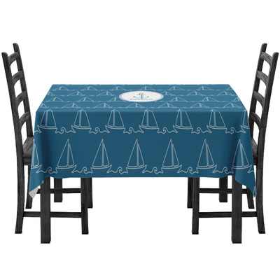 Rope Sail Boats Tablecloth (Personalized)