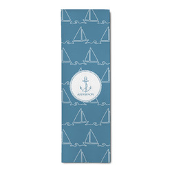 Rope Sail Boats Runner Rug - 3.66'x8' (Personalized)